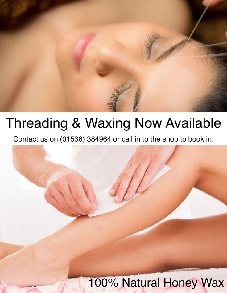 Threading & Waxing at Becalmed