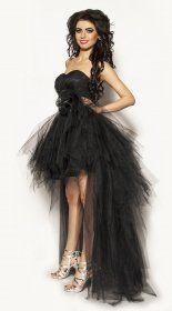 Ekskluzywna czarna sukienka Model:PW-2164