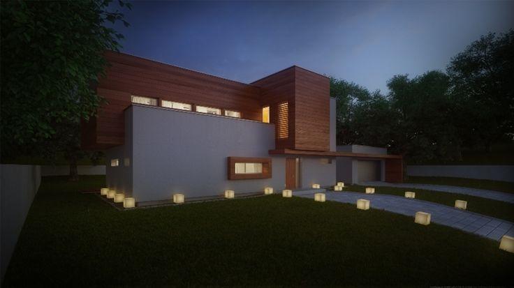 DOM.PL™ - Projekt domu ASD House X.02 CE - DOM GN1-18 - gotowy projekt domu