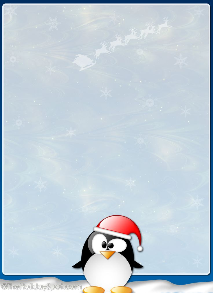 christmas letter stationery templates