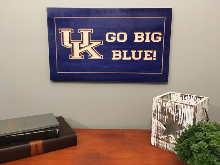 University of Kentucky Carved Sign