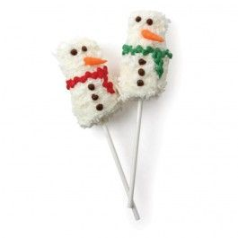 Make'n Mold® Coconut Snowmen Pops | recipes | Pinterest