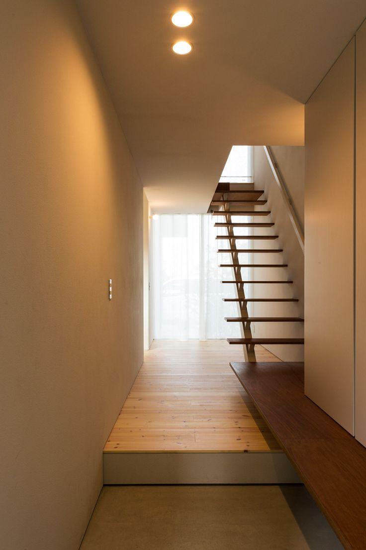 Cardigan Cardigan By Takeru Shoji Architects · Stair ClimbingFloating  StaircaseInterior ArchitectureInterior DesignJapanese ...