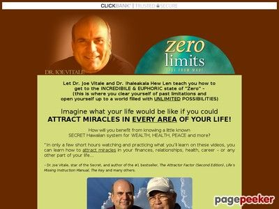 (adsbygoogle = window.adsbygoogle || []).push();     (adsbygoogle = window.adsbygoogle || []).push();  Dr. Joe Vitale's Zero Limits Maui    http://www.zerolimitsmaui.com/ review  Let Dr. Joe Vitale And Dr. Ihaleakala Hew Len Teach You How To Get To The Incredibile & Euphoric...