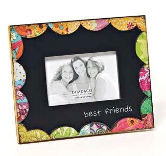 colorful devotions best friends frame