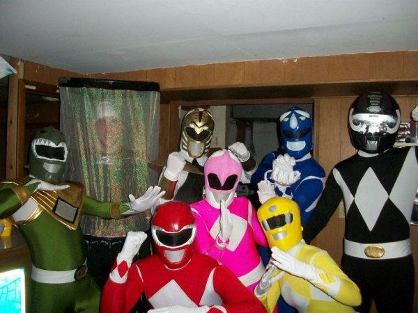 Power Rangers Halloween Costumes