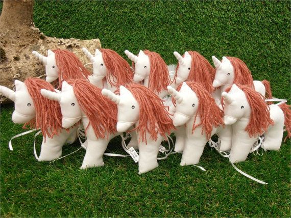 Unicorn Handmade Unicorn White Unicorn Fabric Unicorn