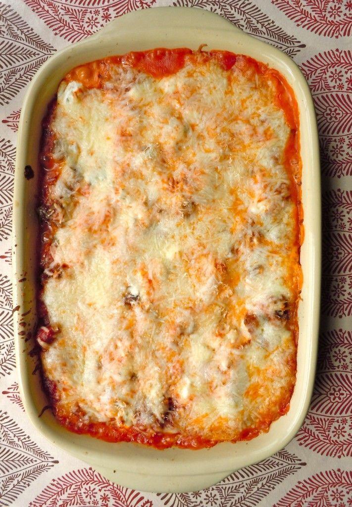 Lasagna {gluten free}