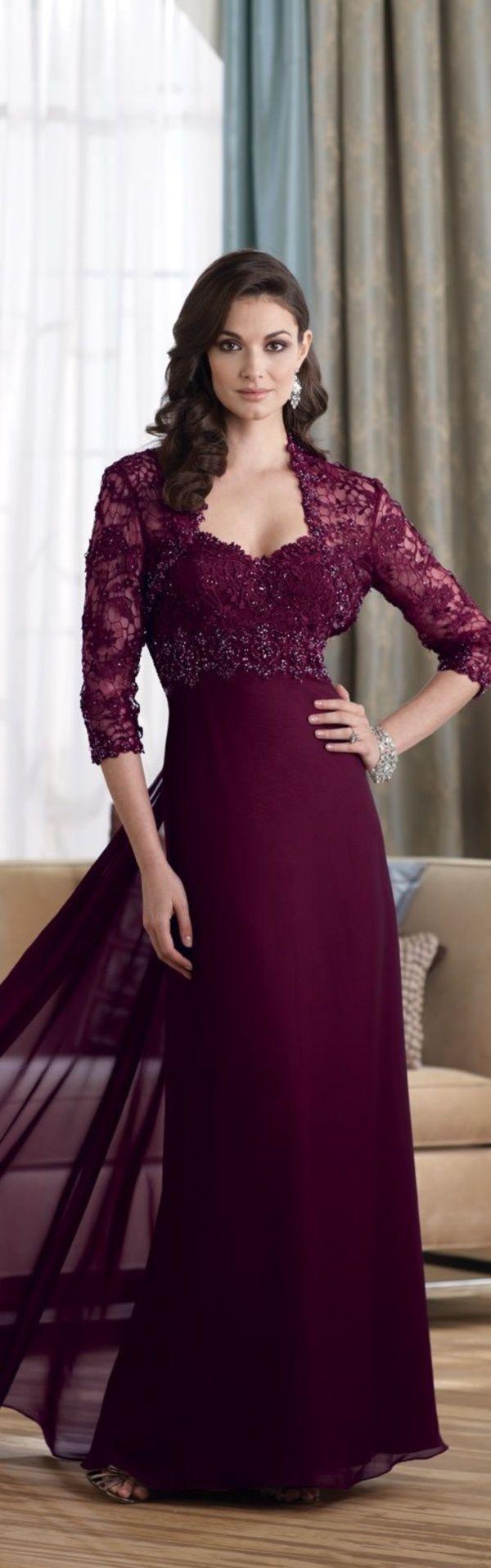 Wein Farbe Outfits zu bleiben Romantic Diese year0281