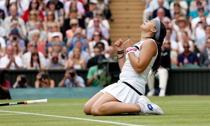 LONDON - The Championships Wimbledon ... Marion Bartoli Reaches Final Again! ... Marion defeated Kirsten Flipkens to advance to Final v 1st time Finalist Sabine Lisicki. 7/4//13