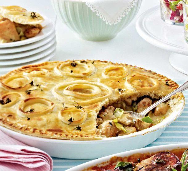Unser beliebtes Rezept für Geflügel-Pie und mehr als 55.000 weitere kostenlose Rezepte auf LECKER.de.