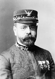 "John Philip Sousa (6 Nov 1854 – 6 Mar 1932) in 1900.  Sousa was an American composer/conductor of the late Romantic era, known primarily for American military and patriotic marches. Because of his mastery of march composition, he is known as ""The March King"" or the ""American March King"". Among his best-known marches are ""The Liberty Bell"", ""The Washington Post"", ""Semper Fidelis"" (Official March of the US Marine Corps), and ""The Stars and Stripes Forever"" (National March of the USA)."