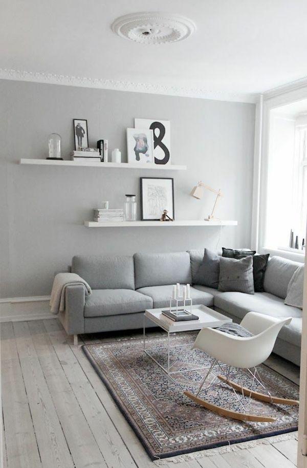 35 Winter Wohnzimmer Dekor Ideen für kleine Wohnungen
