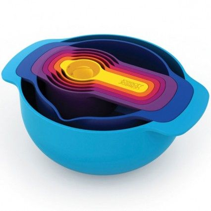 Joseph Joseph Nest 7 Plus - stylish measuring bowls