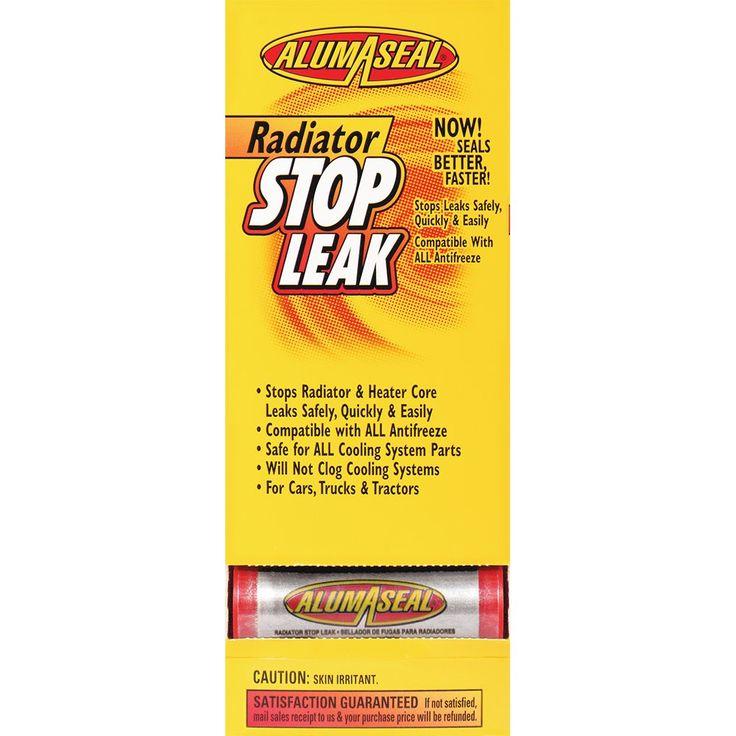 Alumaseal Asd24 2 24pk Radiator Sealer Tube Dispenser Pack Of 24