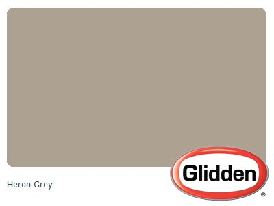 Heron Grey Paint Color Glidden Paint Colors Gray Paint Colors Living Room Colors And Room