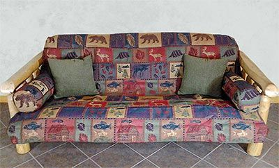 Thank you. You will receive a $1 off coupon during checkout. Big Sky Rustic Futon Covers - Montana Pattern