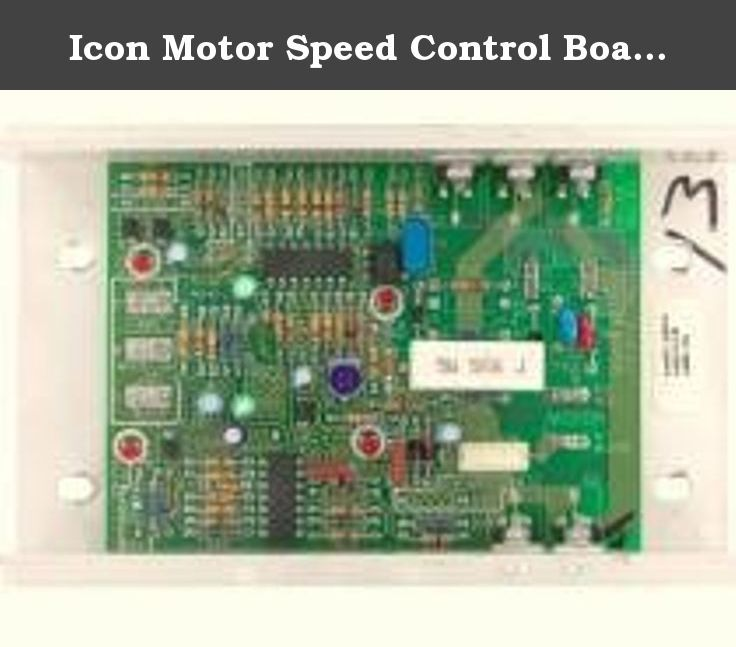Icon Motor Speed Control Board Part 137856R 137856 Model Icon 831294620. ◾***THIS IS A HIGH QUALITY COMPATIBLE OEM PRODUCT WHICH MEETS OR EXCEEDS THE SPECIFICATIONS OF THE ORIGINAL*** ◾ 137856R Specifications Our Value OEM Value Product length 6.25 in. Product width 4 in. Product height 1.75 in. Product weight 1.8 lbs Refurbished Appliance Part Replaces 137856r 137856R Refurbished Icon Motor Speed Control Board. Specifications: Product Height: 1.75 in., Product Length: 6.25 in., Product...