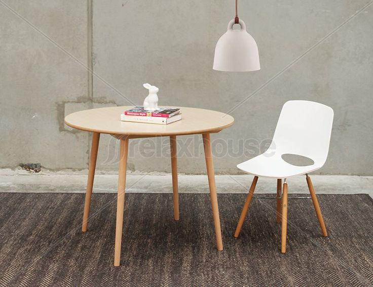 round dining table 100cm. small round designer original ironica dining table 100cm - four person