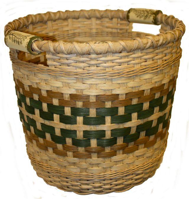 Basket Weaving Handles : S ings field basket with pottery handles