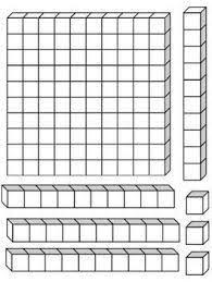 bloques base 10 para imprimir ile ilgili görsel sonucu