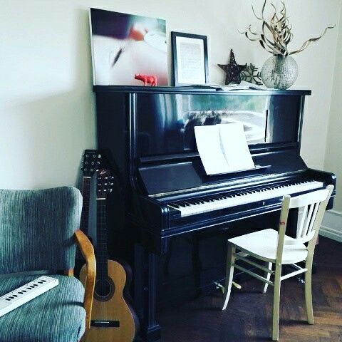 Space for music #interior #piano #music #1920's