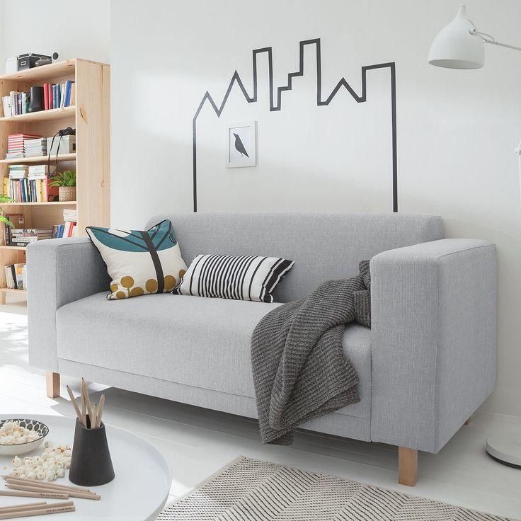 unglaublich  Sofa KiYDOO relax (2-Sitzer) Webstoff