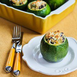 25+ best ideas about Vegetarian stuffed zucchini on ...