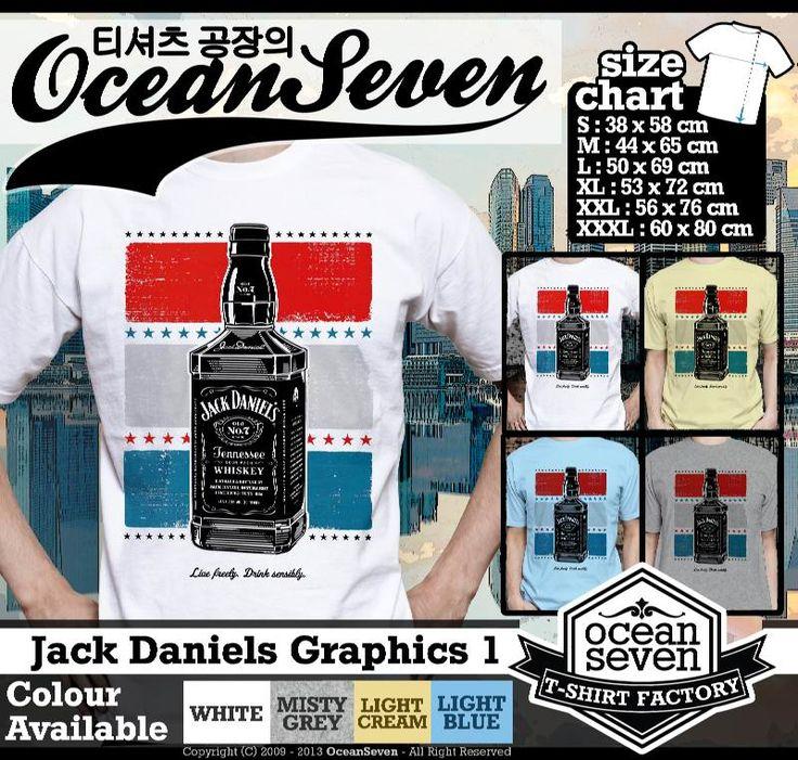 Kaos Jack Daniels 1