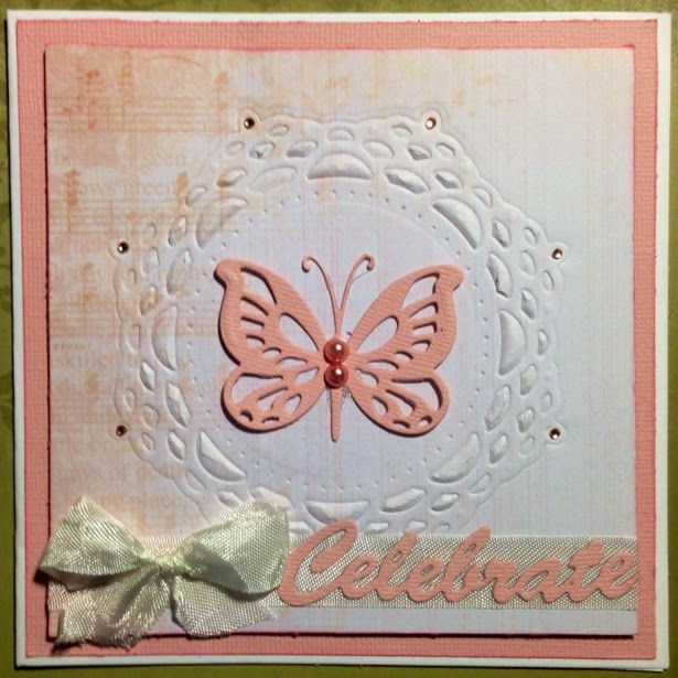 Couture Creations: Celebrate by Tina Connolly | #couturecreationsaus #cards #decorativedies #ornamentallacedies