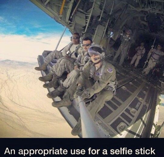 I agree! Selfie for badass photos. OOHRAH!...-caption by Mari, saluting & thank all of you who serve, including military dogs. Thank you sirs & ma-am's & bad-ass paws...