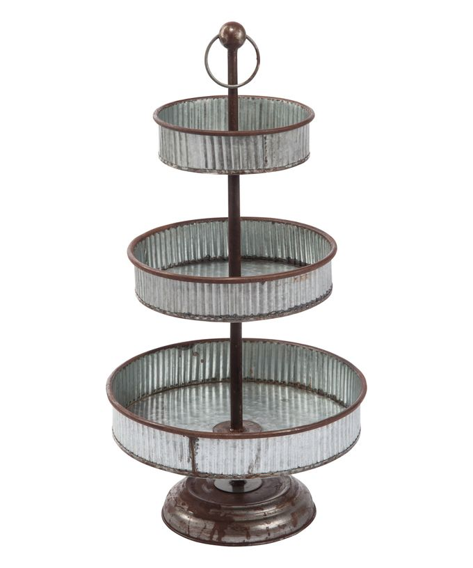 20 Fabulous Functional Farmhouse Trays Three Tier Tray Tiered Tray Tiered Stand