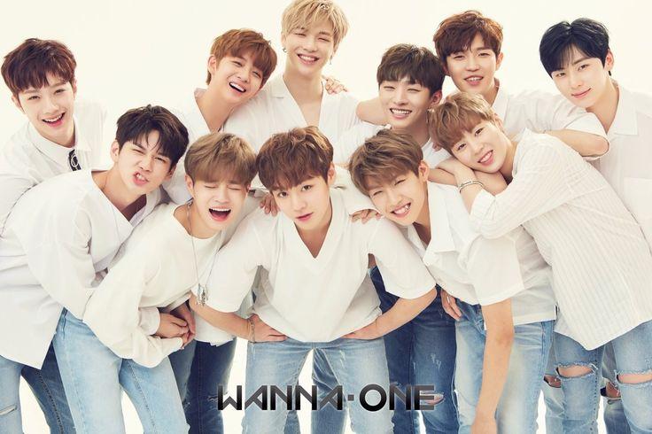 Wanna one  (Bae jinyoung with brown hair ?!?! Omg omg)