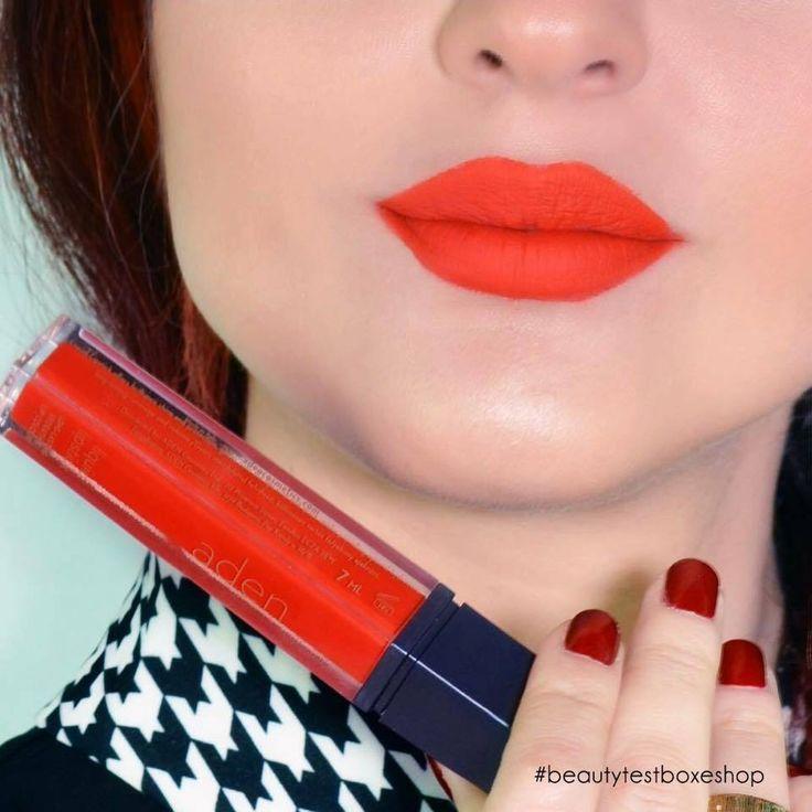 Η #AdenCosmetics κάνει τα χείλη σου #χαρούμενα με την νέα της απόχρωση! #LiquidLipstick23 ❤ Find Here: ➡http://www.beautytestbox.com/aden-cosmetics-liquid-lipstick-23-happy-new  #beautytestbox #beautytestboxeshop #beautyteam #beauty #love #like #musthave #Greekeshop #cosmetics #beautytestboxlovesme #lips #lipstick #happy Aden Cosmetics