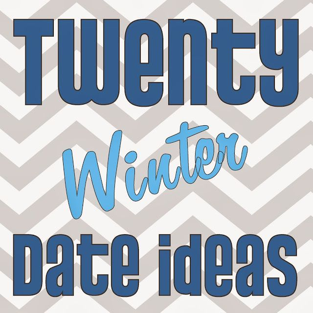cute first date ideas winter