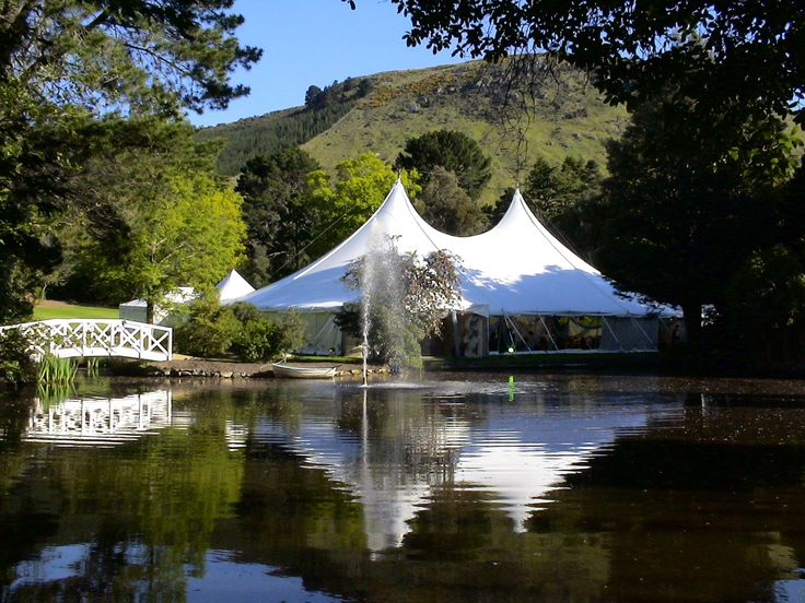 Marquee Set by Water