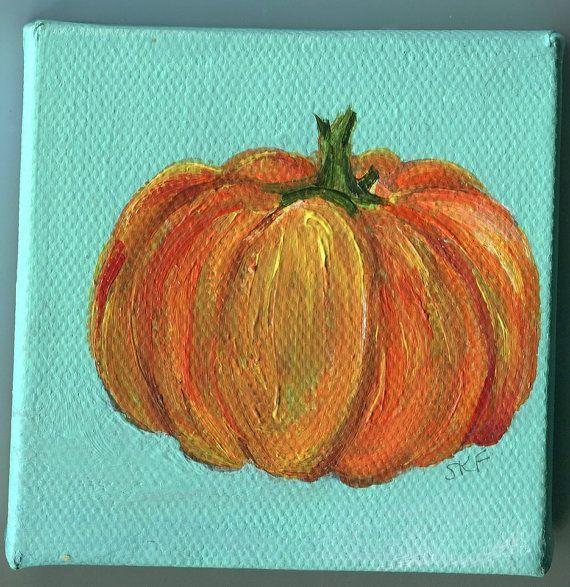 1000+ ideas about Pumpkin Canvas Painting on Pinterest | Pumpkin ...