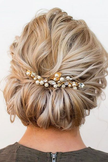 20 Hochzeitsfrisuren für kurzes Haar // #Haar #Frisuren #Kurz #Hochzeit