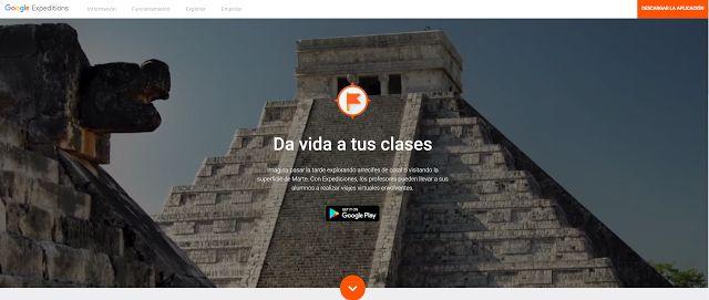 Crea y aprende con Laura: Google Expeditions ya en España y celebra la vuelt...