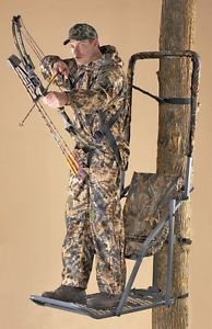 a extreme comfort hang on treestand deer hog hunting bow gun hanging tree stand