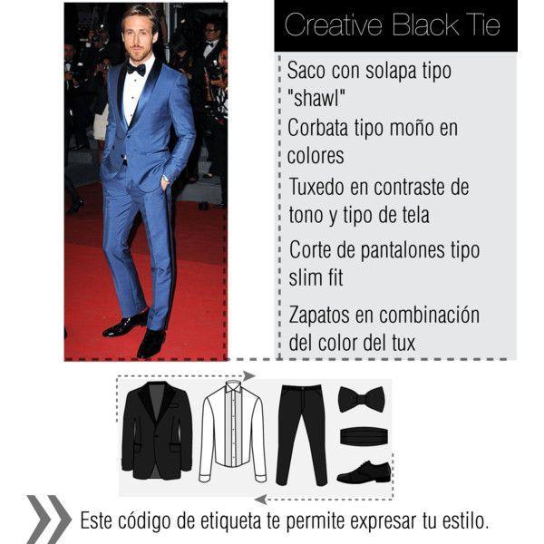 codigo de vestimenta creative black tie