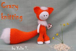 Crazy knitting: Сверкнули хитрые глаза на мигМелькнул в тени хвост...