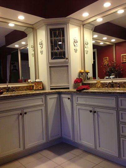 Master Bathroom Remodel In Jensen Beach, FL. Designed By Carol Acres With Kitchen  Cabinet