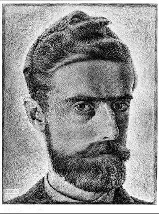 Escher Self Portrait