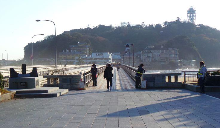 Le port d'Enoshima va accueillir les Jeux olympiques de 2020 ! #Enoshima #Tokyo #Japon #voyage