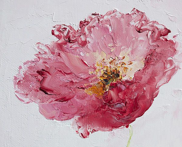 161 best Flower Paintings, floral, living room decor, cottage decor ...