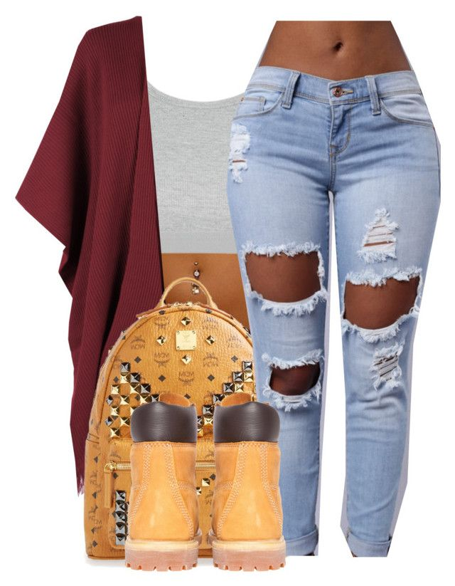 """say it X tory lanes"" by ajsavagee ❤ liked on Polyvore featuring Topshop, WearAll, MCM and Timberland"