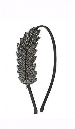 Gatsby Hairband - Crystal - Plümo Ltd