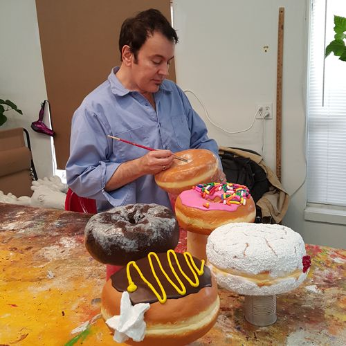 This man is like me!! I love making Faux pastries and eating real ones. I have to meet him!