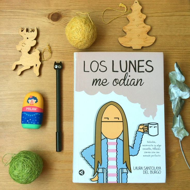 ¿Odias los lunes? ¿Ellos te odian a ti? Lee #loslunesmeodian de Laura Santolaya (@p8ladas) y verás el próximo lunes con otra cara :)